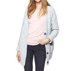 Sanctuary, Urban Knit Cardigan, Grey, Size M